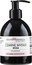 Parfumuri și produse cosmetice Săpun negru lichid cu ulei de trandafir - Beaute Marrakech Rose Black Liquid Soap