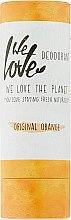 """Parfumuri și produse cosmetice Deodorant solid """"Portocală"""" - We Love The Planet Original Orange Deodorant Stick"""