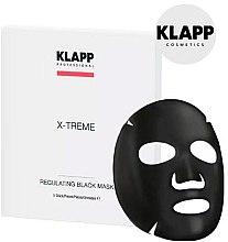 Parfumuri și produse cosmetice Mască de față - Klapp X-Treme Regulating Black Mask