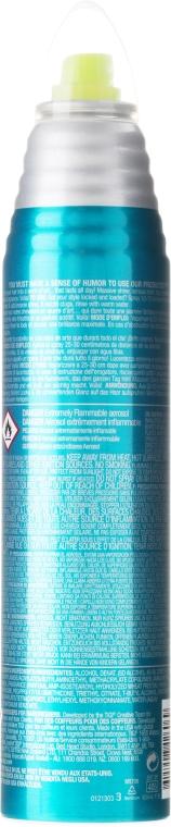 Spray Fixativ pentru Strălucire - Tigi Bed Head Masterpiece Massive Shine Hairspray — Imagine N3