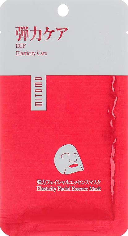 Mască pentru față cu EGF - Mitomo Premium Elasticity Faciel Essence Mask