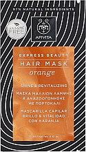 Parfumuri și produse cosmetice Mască regenerantă cu portocală pentru strălucirea părului - Apivita Shine & Revitalizing Hair Mask With Orange