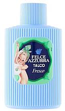 Parfumuri și produse cosmetice Pudră de talc pentru corp - Felce Azzurra Fresh Talcum Powder