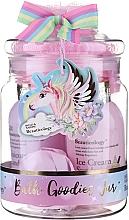 Parfumuri și produse cosmetice Set - Baylis & Harding Beauticology Unicorn Mini Stack Set (sh/cr/100ml + b/wosh/100ml+ b/lot/30ml + bath/fizzer/40g + acc)