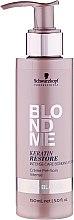 Parfumuri și produse cosmetice Esență pentru tratament intensiv - Schwarzkopf Professional BlondMe Keratin Restore Intense Care Bonding Potion