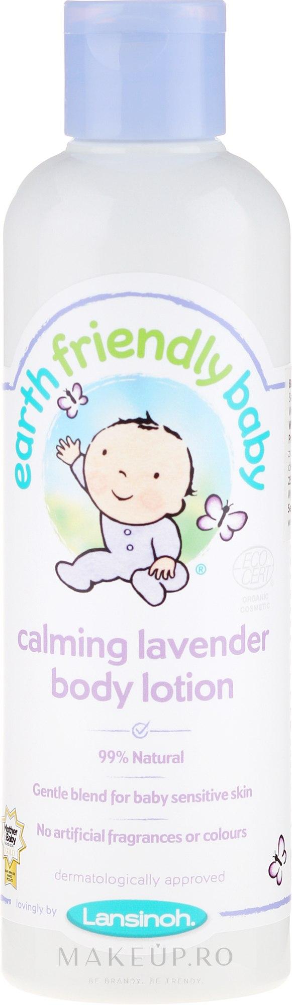Loțiune de corp - Earth Friendly Baby Calming Lavender Body Lotion — Imagine 250 ml