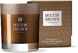 Parfumuri și produse cosmetice Molton Brown Black Peppercorn Single Wick Candle - Lumânare aromată, un fitil