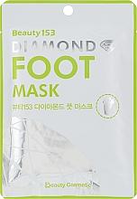 Parfumuri și produse cosmetice Mască pentru picioare - Beauugreen Beauty153 Diamond Foot Mask