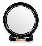 Parfumuri și produse cosmetice Oglindă cosmetică, 5022, neagră - Top Choice