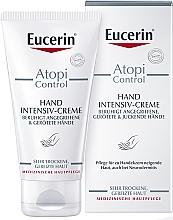 Parfumuri și produse cosmetice Cremă atopică pentru mâini - Eucerin AtopiControl Intensiv Hand Creme