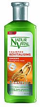 "Parfumuri și produse cosmetice Șampon regenerant ""Ginseng"" - Natur Vital Revitalizing Sensitive Ginseng Shampoo"