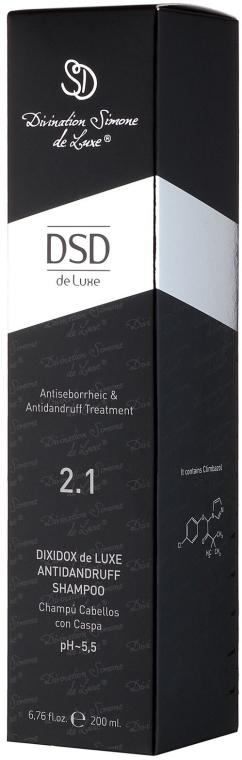 Șampon antimătreață Dixidox De Luxe N 2.1 - Divination Simone De Luxe Dixidox DeLuxe Antidandruff Shampoo — Imagine N3