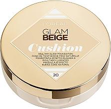 Parfumuri și produse cosmetice Tonal cushion - L'Oreal Paris Glam Beige Cushion Healthy Glow Foundation
