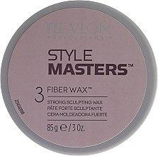 Parfumuri și produse cosmetice Ceară cu fixare puternică - Revlon Style Masters Fibre Wax 3 Strong Scultping Wax