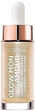 Parfumuri și produse cosmetice Iluminator lichid - L'Oreal Paris Glow Mon Amour