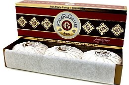 "Set trei săpunuri parfumate ""Jean Marie Farina"" - Roger & Gallet Jean Marie Farina Perfumed Soaps (soap/3x100g ) — Imagine N2"