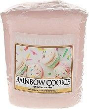 "Parfumuri și produse cosmetice Lumânare aromatică ""Cookies"" - Yankee Candle Rainbow Cookie Votive Candle"