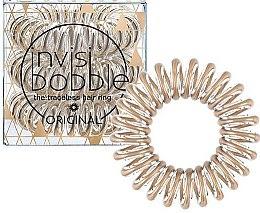 Parfumuri și produse cosmetice Elastic de păr - Invisibobble Original Bronze Me Pretty