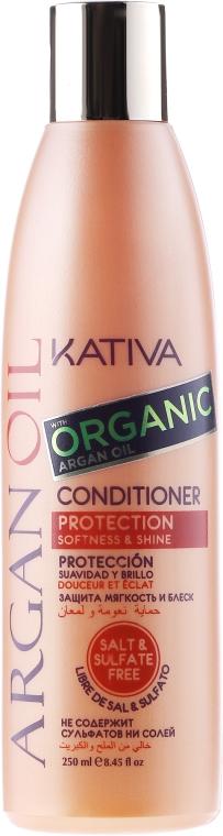 Balsam hidratant pentru păr cu ulei de argan - Kativa Argan Oil Conditioner — Imagine N1