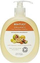 "Parfumuri și produse cosmetice Săpun lichid ""Detox"" - Bentley Organic Body Care Detoxifying Handwash"