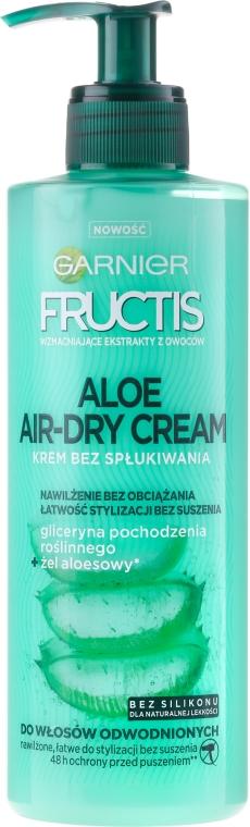 Cremă pentru păr - Garnier Fructis Aloe Air-Dry Cream