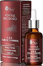 Parfumuri și produse cosmetice Emulsie pentru față - Ava Laboratorium S.O.S Sebum Control