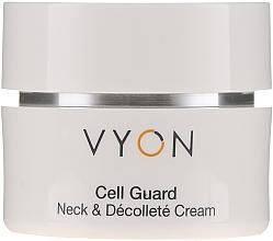 Parfumuri și produse cosmetice Cremă pentru gât și decolteu - Vyon Cell Guard Neck and Dekollete Cream
