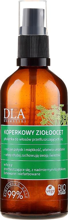 Balsam-spray pentru păr gras - DLA