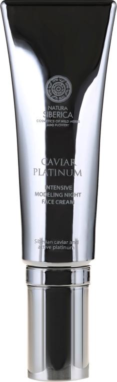 Cremă de noapte cu efect anti-rid - Natura Siberica Caviar Platinum — Imagine N2