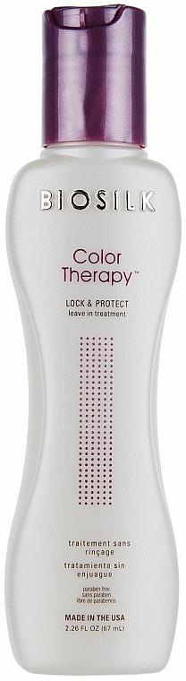 Balsam fără clătire pentru protejarea culorii părului vopsit - Biosilk Color Therapy Lock and Protect Leave In Treatment — Imagine N2
