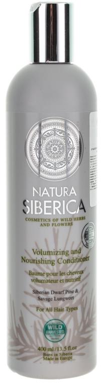 """Balsam pentru toate tipurile de păr """"Volum și îngrijire"""" - Natura Siberica — Imagine N1"""