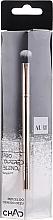 Parfumuri și produse cosmetice Pensulă pentru farduri de pleoape, 206 - Auri Chad Pro Tapered Blend Brush
