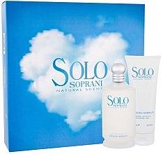 Parfumuri și produse cosmetice Luciano Soprani Solo Soprani - Set (edt/100ml + sh/gel/100ml)