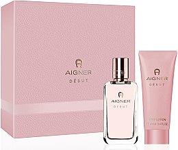 Parfumuri și produse cosmetice Aigner Debut - Set (edp/50ml+b/lot/100ml)