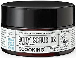 Parfumuri și produse cosmetice Scrub pentru corp 02 - Ecooking Body Scrub 02
