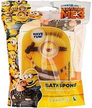 """Parfumuri și produse cosmetice Burete de baie """"Minions"""" pentru copii, Carl - Suavipiel Minnioins Bath Sponge"""