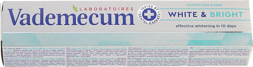 Pastă de dinți - Vademecum Pro Vitamin Whitening Toothpaste