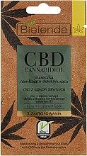Parfumuri și produse cosmetice Mască de față - Bielenda CBD Cannabidiol Moisturizing & Detoxifying Mask