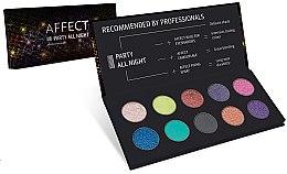 Parfumuri și produse cosmetice Paletă fard de pleoape - Affect Cosmetics Party All Night Eyeshadow Palette