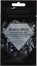 Parfumuri și produse cosmetice Mască detox pentru față - Bielenda Crystal Glow Black Onyx Peel-off Mask