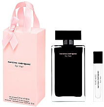 Parfumuri și produse cosmetice Narciso Rodriguez For Her - Set (edt/100ml + edt/mini/10ml)