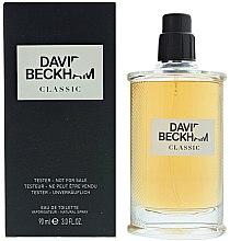 Parfumuri și produse cosmetice David Beckham Classic - Apă de toaletă (tester fără capac)