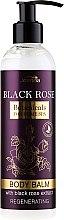 Parfumuri și produse cosmetice Balsam regenerant de corp - Joanna Botanicals Regenerating Body Balm With Black Rose Extract