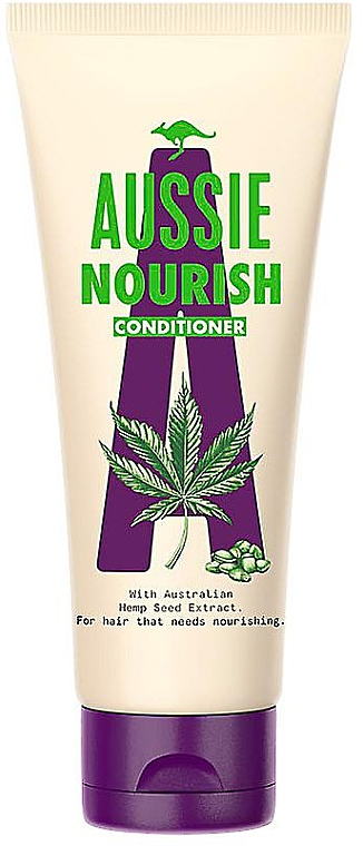 Balsam pentru descurcarea părului - Aussie Hemp Nourish Conditioner — Imagine N1