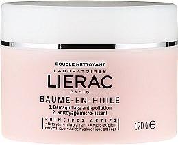 Parfumuri și produse cosmetice Balsam de curățare pe bază de ulei - Lierac Double Nettoyant Baume-En-Huile