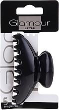 Parfumuri și produse cosmetice Agrafă de păr, 0216, neagră - Glamour