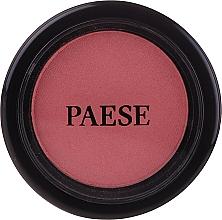 Parfumuri și produse cosmetice Fard de obraz cu ulei de argan - Paese Blush Argan Oil