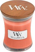 Parfumuri și produse cosmetice Lumânare parfumată în suport de sticlă - WoodWick Tamarind & Stonefruit Candle