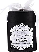 Parfumuri și produse cosmetice Lumânare pentru masaj - Petits Joujoux A Trip To Paris Massage Candle