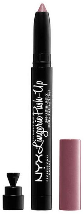 Ruj mat de buze - NYX Professional Makeup Lip Lingerie Push-Up Long-Lasting Lipstick